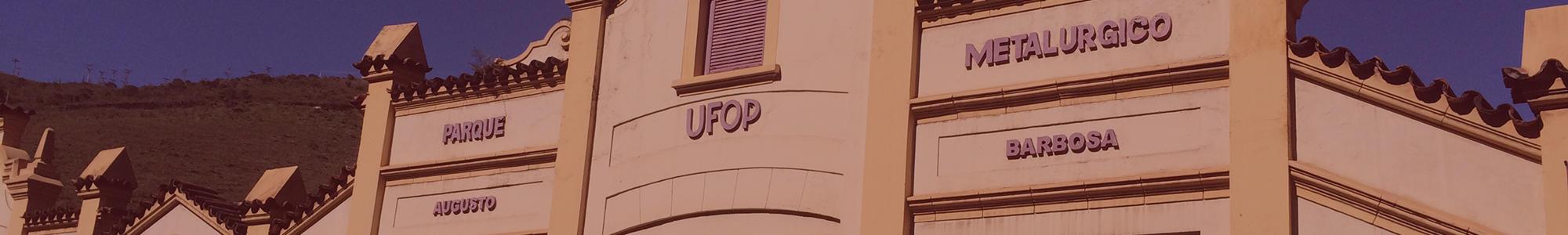 Imagem da fachada do Centro de Artes e Convenções da UFOP
