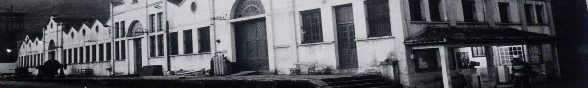 Imagem antiga da fachada do centro de artes e convenções da UFOP