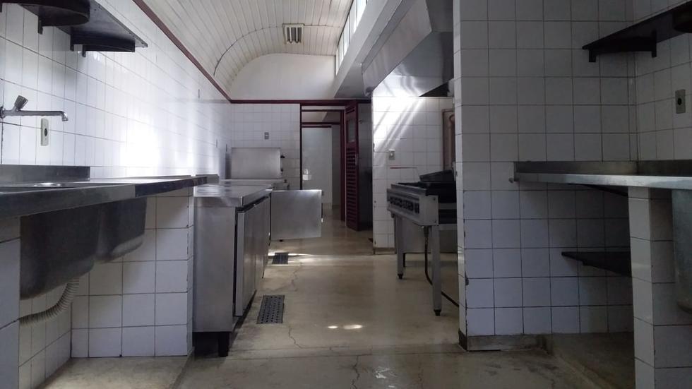 Cozinha do salão Mariana